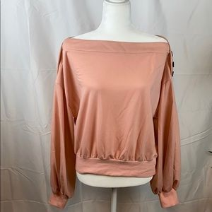 SHEIN pink sweater
